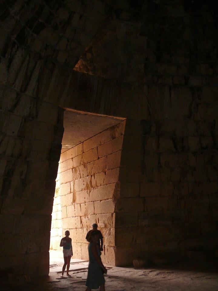 102_973 Greece Mycenae Treasury of Athens