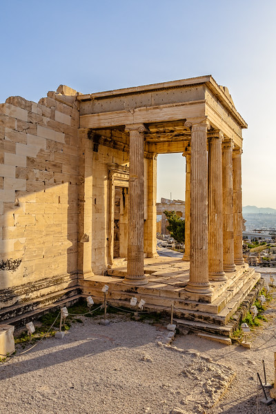 The old temple of Athena Polias