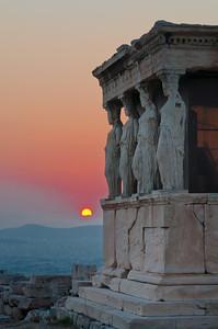 Four Ladies Enjoy the Sunset