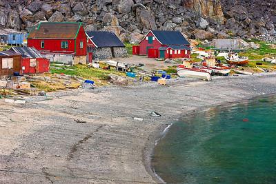 Ukkusissat  Greenland  -  Waterfront Copyright 2020 Steve Leimberg UnSeenImages Com