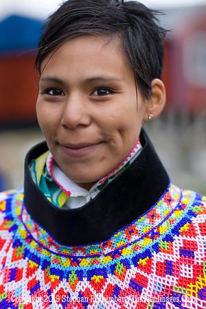 Ukkusissat -  Beautiful Dancer in Village