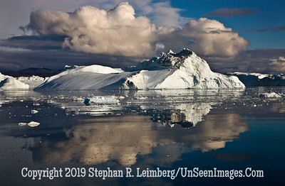 Clouds Over Bergs SMALL