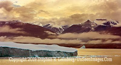 Iceberg & Mountain Range 2