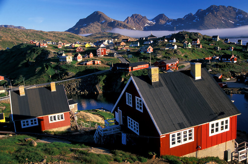 Ammassalik, Greenland <br /> <br /> Greenland villages are delightful. The Danish influence is apparent in the architecture. <br /> After a brief stay in Ammassalik we returned to Reykjavik and then to Seattle, Washington