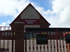 """The old Greenock Academy, the new set for BBC school drama """"Waterloo Road"""".<br /> 12th May 2012"""