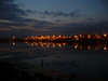 Great Harbour, Greenock by night.<br /> 7th May 2011.
