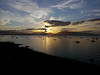 Sunset at Gourock.<br /> 28th July 2013