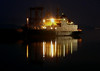 Great Harbour, Greenock by night - SD NEWTON.<br /> 7th May 2011.