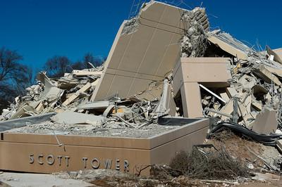 Scott Towers Demolition