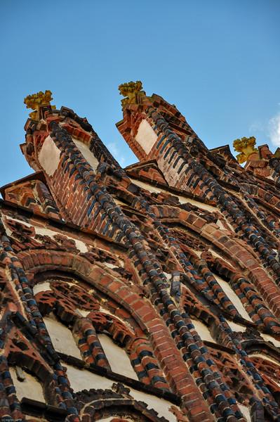 ... Norddeutsche Backsteingotik 14. Jahrhundert / North German Brick Gothic 14th century