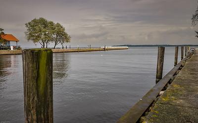 Wiecker Mole / pier of Wieck