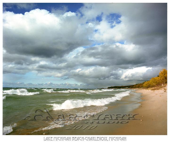 Lake Michigan Beach-Charlevoix, Michigan