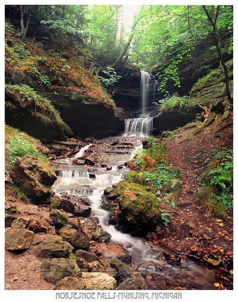 Horseshoe Falls-Munising, Michigan
