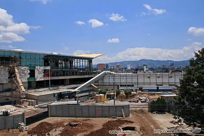 New Airport terminal under construction in Guatemala City.