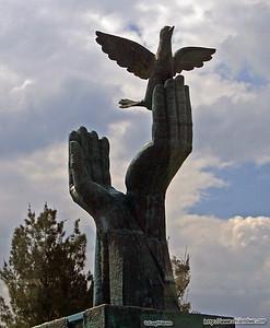 statue in Guatemala City.