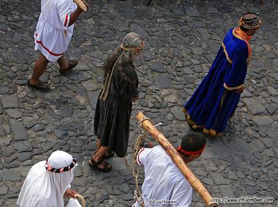 Good Friday Procession Antigua, Guatemala.