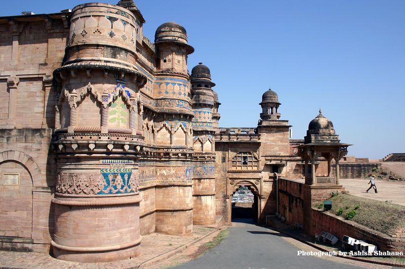 Gwalior Fort - Man Mandir