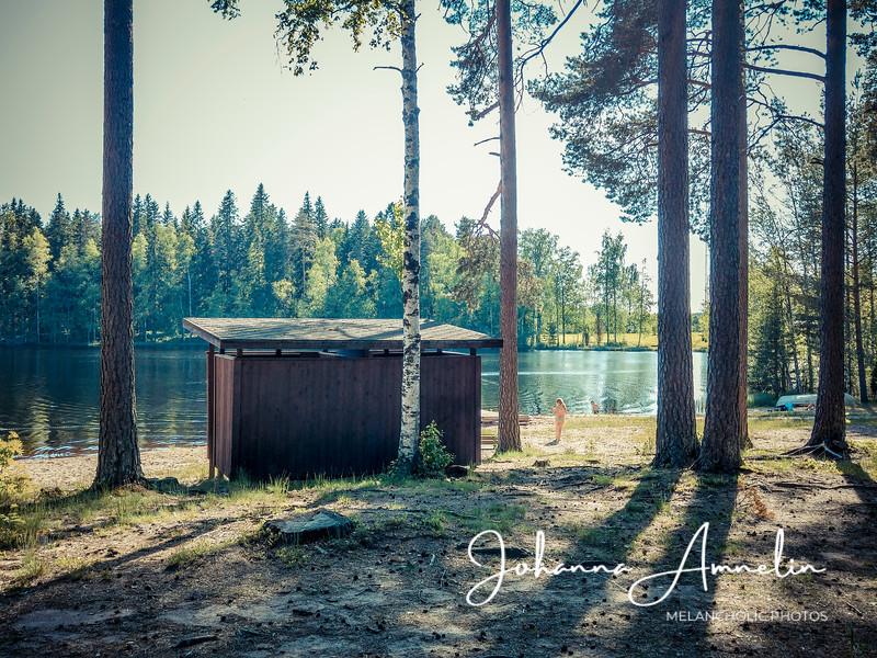 Härjänvatsan uimaranta Kiikalassa