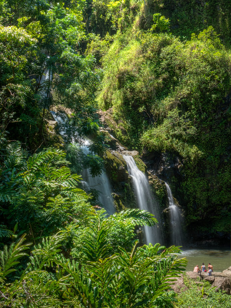 Waterfalls on Road to Hana