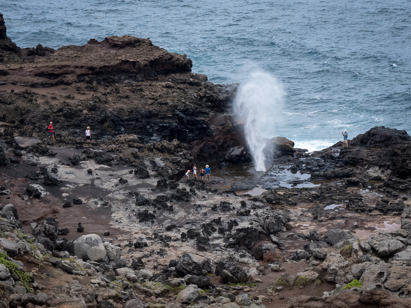 Blow Hole on North Maui