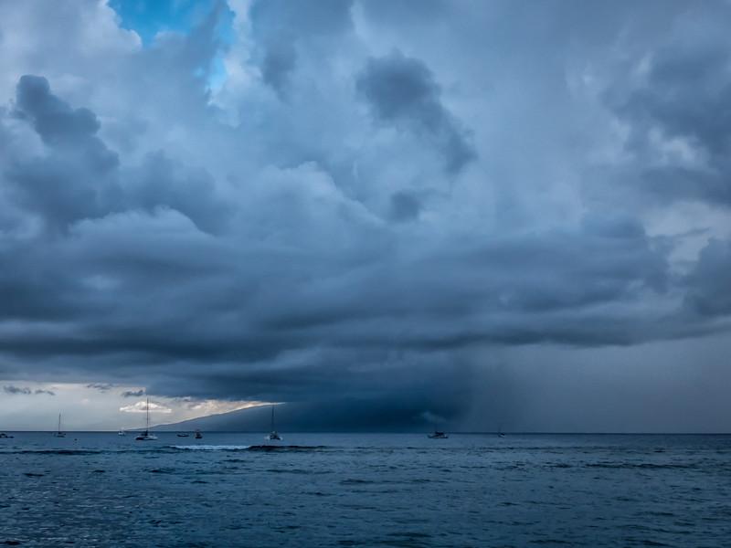 Storm off Maui