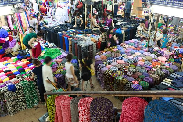 Cloth stalls