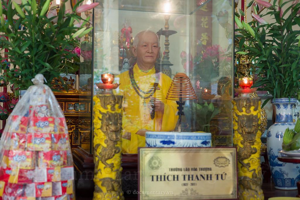 Superior Monk Thich Thanh Tu