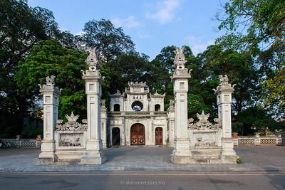 Hà Nội - Quán Thánh temple