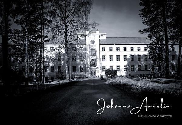 Halikon sairaala (Venäläisten vanha sotilaskasarmi 1800 luvulta)