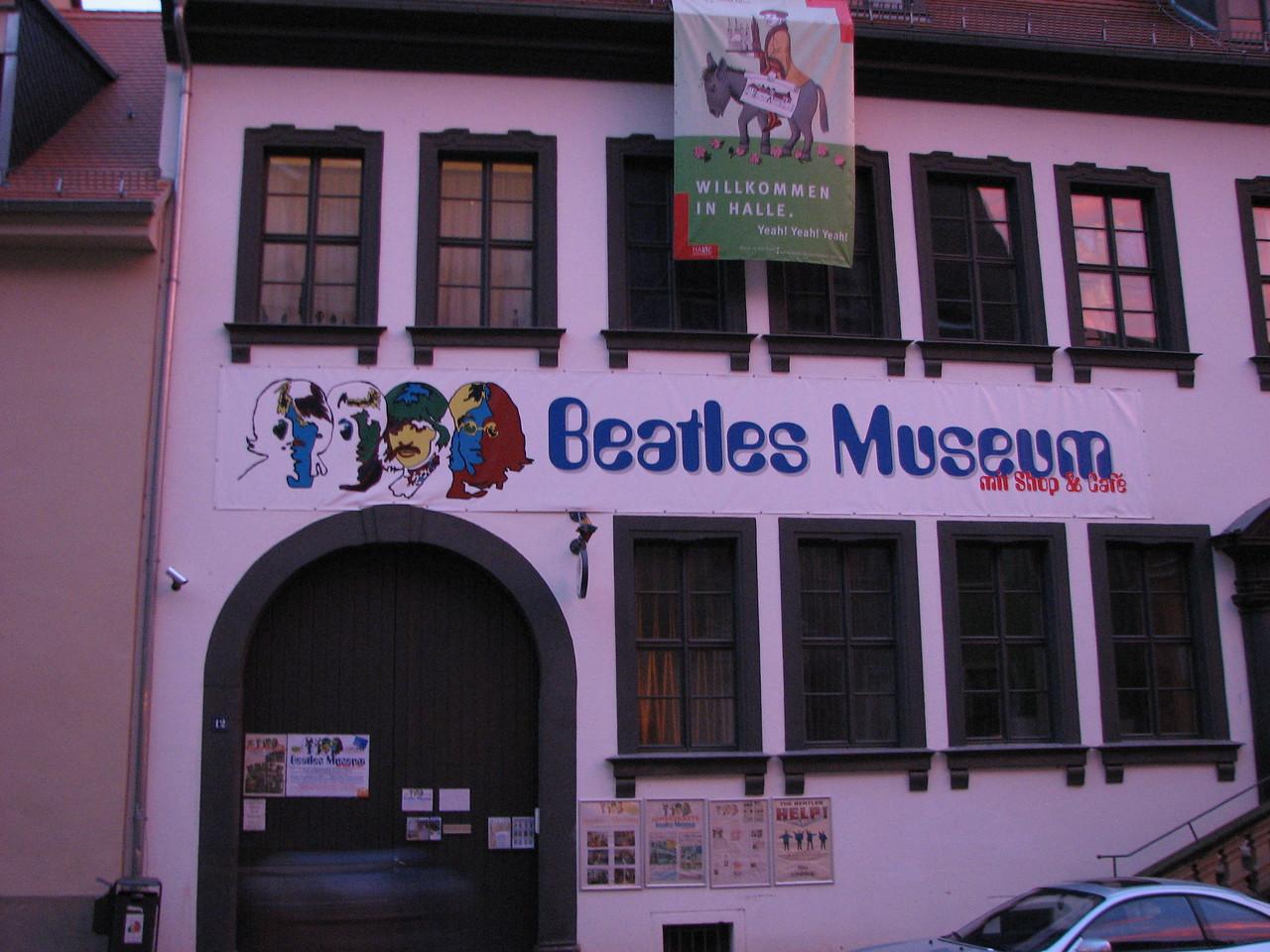 Beatles Museum in Halle