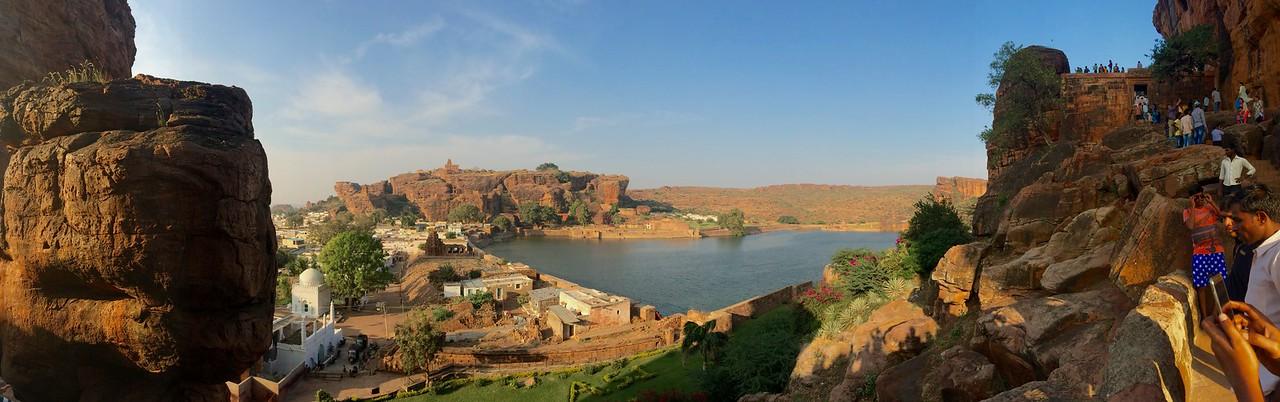Badami - A Panorama