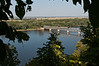 Hannibal, Missouri, View of Mississippi River from a park above the town