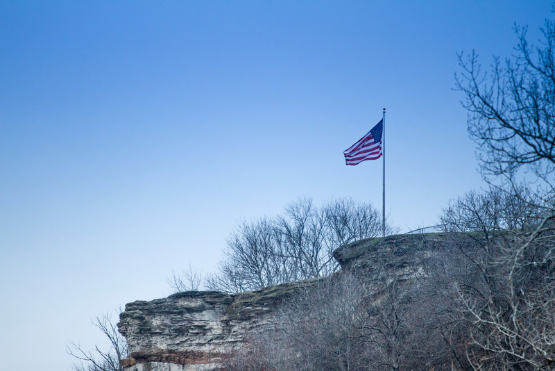 Lover's Leap in Hannibal, Missouri
