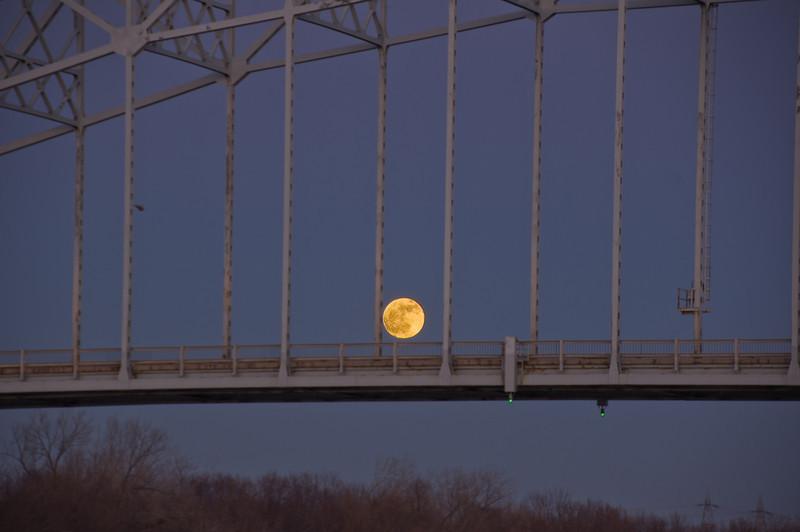 Moon on the Bridge