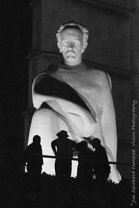José Martí Statue Before Dawn