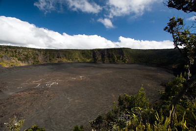Kilauea Iki crater right