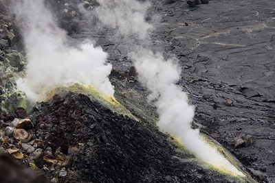 Sulpher vent in Kilauea crater