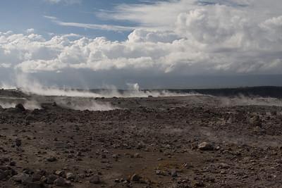 Kilauea crater rim