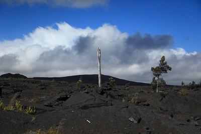 Volcanic landscape.