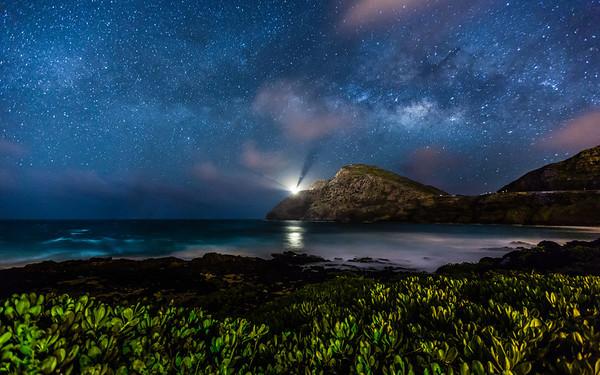 Makapu'u Beach Milky Way