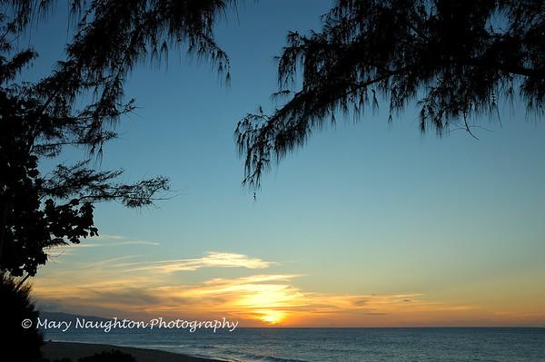 Sunset Beach, Oahu, Hawaii