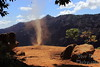 Dust Devil in Waimea Canyon