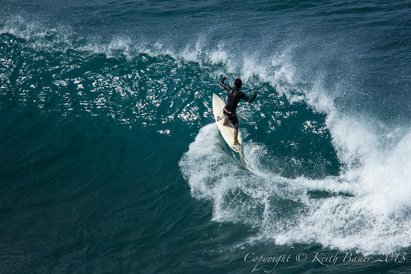 Surfing Hawaii!