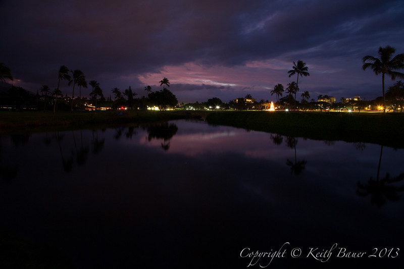 Pre Dawn light - Maui On Christmas Morning 2012