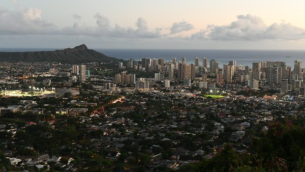 Day to Night over Diamond Head