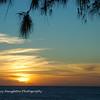 North Shore sunset, Oahu, Hawaii