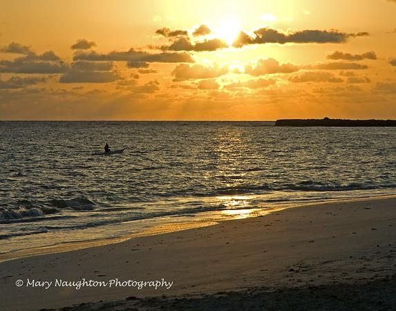 Kailua Bay Sunrise, Hawaii