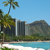 Waikiki & Diamond Head, Hawaii