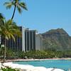 Waikiki & Diamond Head, Hawaii