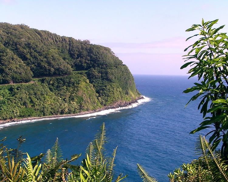 """Maui, along the trip on """"the Road to Hana"""""""